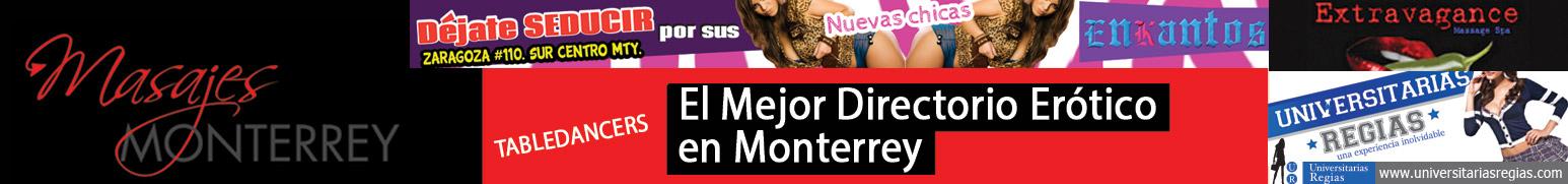 Escorts y Masajes en Monterrey